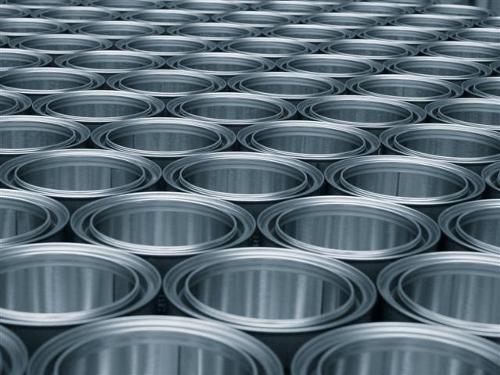 Boîtes cylindriques en fer blanc avec couvercle hermétique / Boîtes à fermeture