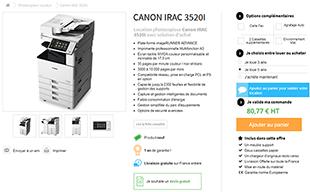Louer photocopieur professionnel