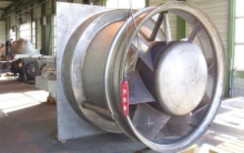 Axialventilatoren für hohe Volumenströme und Drücke