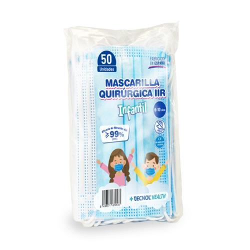 Mascarilla Quirúrgica tipo IIR Infantil