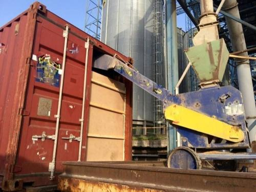 Отправка сыпучих грузов на экспорт в контейнерах