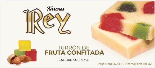 TURRÓN DE FRUTA CONFITADA