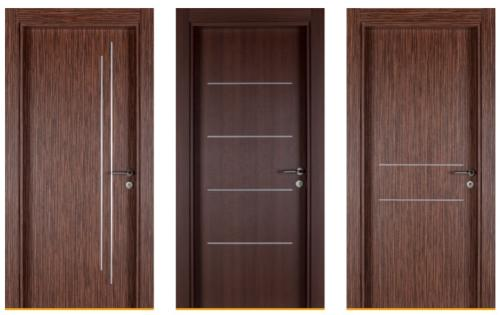 Interior Door with PVC Frame and Architrave Set