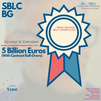 5 Billion Euros Face Value SBLC Sale / Lease