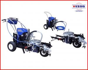 HYDRAULIC TEXTURE AIRLESS SPRAYER RP7 WITH LINE STRIPING KIT