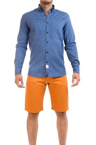 Camisa Azul Cânhamo