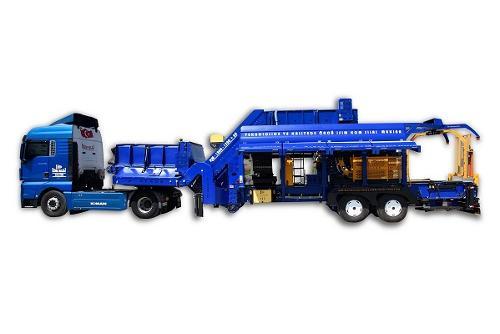KMX 1500 Mobile System Round Baler/Wrapper