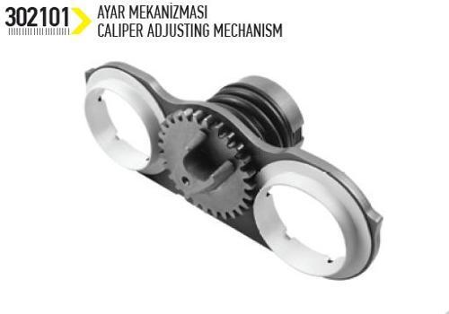 Meritor Adjusting Mechanism