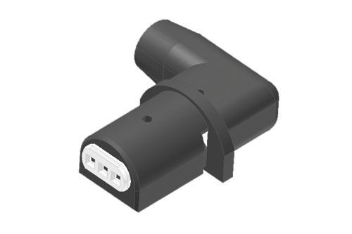 Connettore angolato per pompe circolatori Wilo e Grundfos co
