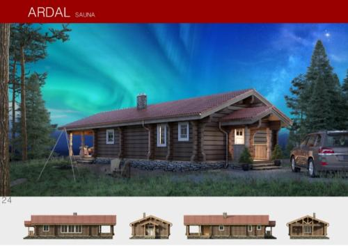 Prefabricated wooden house ARDAL
