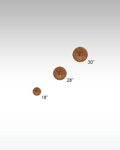 Circle Buttons-sew Thru
