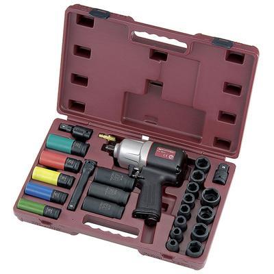 Clé à chocs industrielle pneumatique et outils universels