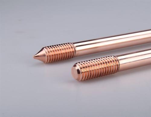 Copper Bonded Earthing Rods , Bakır Topraklama Çubukları