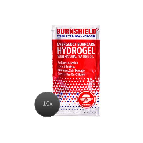 Burnshield hydrogel blotts