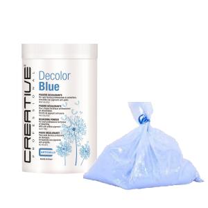 Decolorante blu in polvere non volatile