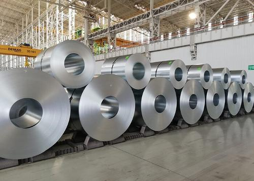 GALVANIZED SLITTED COILS AND SHEETS