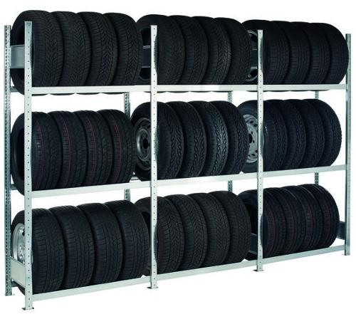 Basic rack, wheel/tyre rack, 2000 x 900 x 400 mm