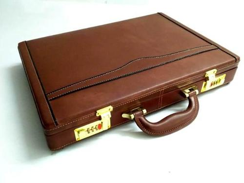 Veg Tanned Leather Attache