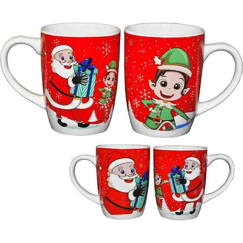 MUGS DE NOEL 12 OZ 2 ASS