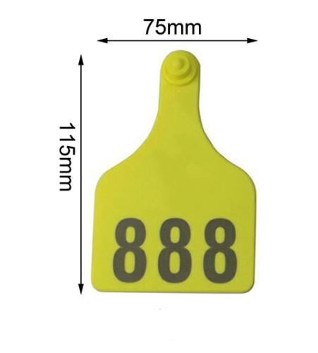 115x75mm Cow /Cattle TPU ear tag
