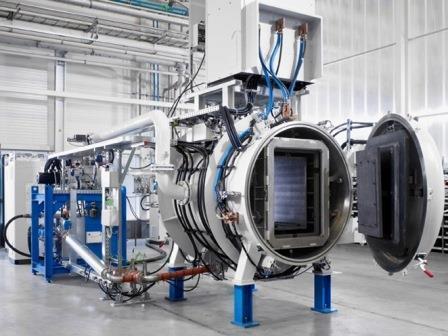 Graphite resistance heated vacuum furnaces type COV