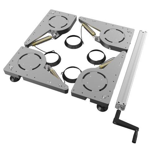 Hydraulique lift castor (set)