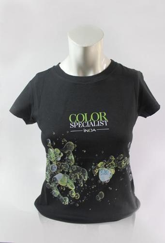 Camiseta para peluquería y estética