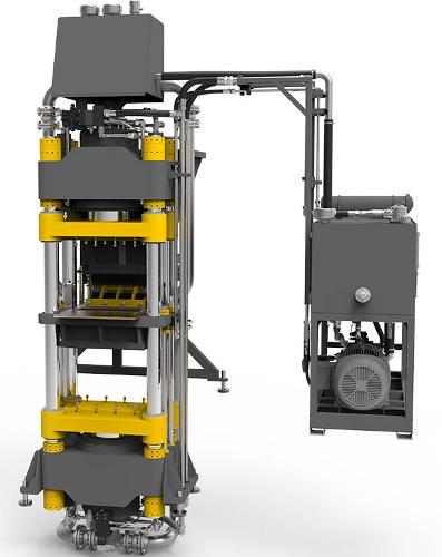 Гиперпресс для кирпича TITAN 400D, оборудование для кирпича