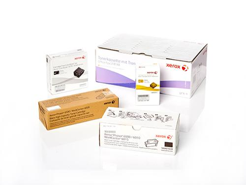 Original XEROX supplies and spare parts