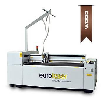 Laser cutting system for wood