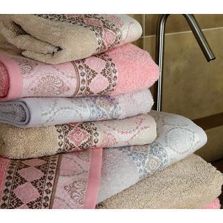 Πετσέτες Damask 450gr 100% βαμβακερές