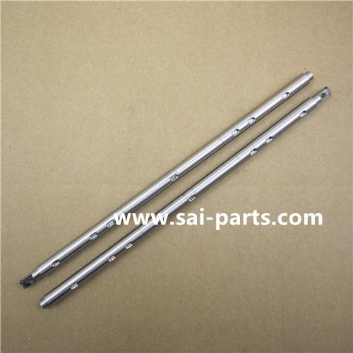 ejes de acero inoxidable, mecanizado CNC