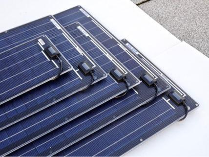 Solarmodule ohne Rahmen