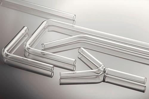 Angled tubes