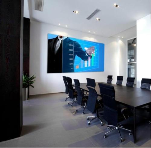 8K - 4K - Tela LED Full HD para salas de reuniões