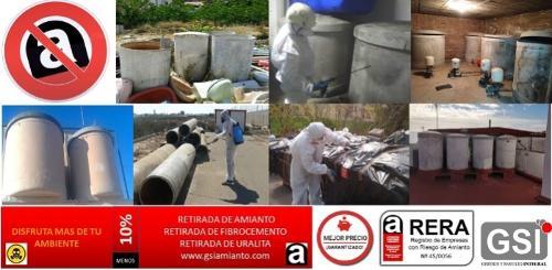 retirada transporte residuos de uralita