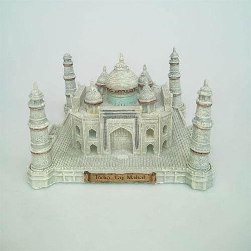 Miniature India Taj Mahal model gift resin building model