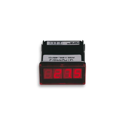 Digital thermometer for NiCr-Ni, Pt100 or Pt1000