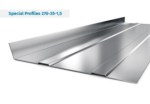 Stahlprofile für Auflieger und Aufbauten