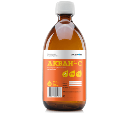 Akvan-S Complex Food Additive