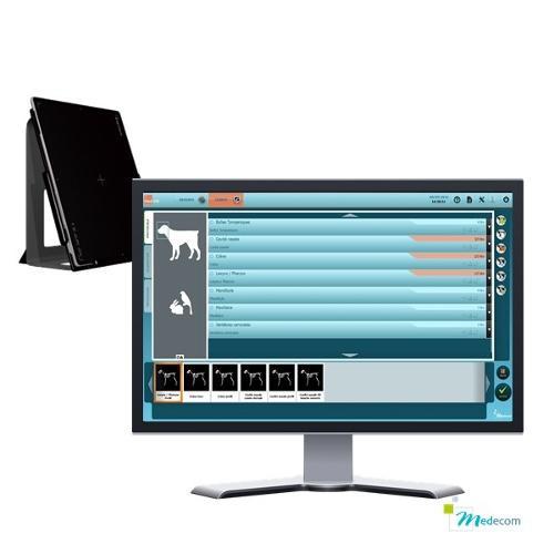 Med Vet - Capteur plan & Console d'acquisition