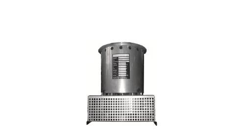 Small chimney top fan