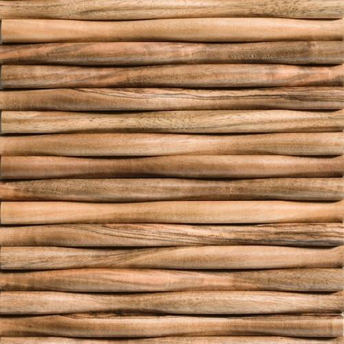 Natural wood panels