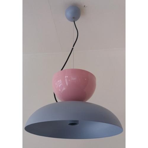 Aluminium single lamp N.3502