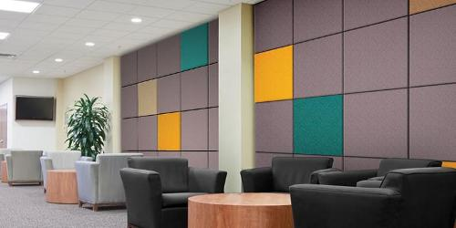 Panneaux muraux acoustiques