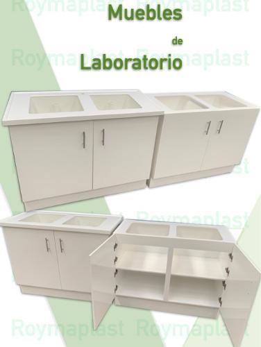 Muebles de polipropileno para laboratorios