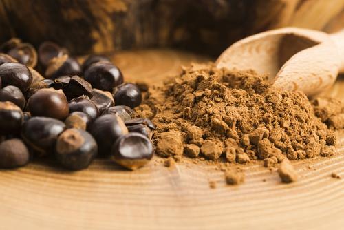 Bio-guarana-pulver Und Guarana-nüsse