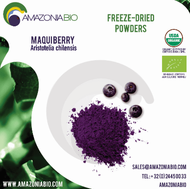 Organic Maqui Freeze-Dried Powder