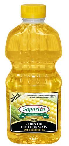 Huile de maïs raffinée