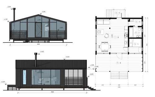 Модульный дом DUBLHAUS  43